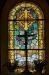 Altarfönstret är från en annan epok