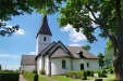 Kaga kyrka juli 2014