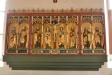 Närbild på altarskåpet
