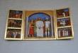 Altarskåp på norra väggen