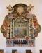 Tidigare altaruppsats från 1750 av mäster Wedulin i Hjo