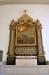 Altartavlan är troligen målat av Lars Bolander på 1700-talet