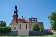 Stjärnorps kyrka juli 2014