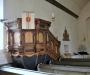 Predikstol från 1665