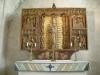 Det vackra lilla altarskåpet från omkr. 1500
