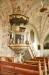 Simson bär upp predikstolen som utförts av Nils Österbom 1757