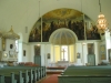 Pehr Hörbergs stora altartavla dominerar kyrkorummet