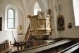 Predikstol från 1705