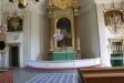 Kyrksalen från altaret