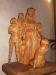 Vacker träskulptur