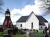 Askeryds kyrka på 90-talet. Foto: Åke Johansson.