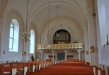 Sakristian ryms bakom skärmväggen i södra korsarmen