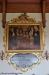 Altartavlan är gjord av häradsmålaren C J Rolander från Klevshult