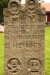 På kyrkogården i Fiskebäck.