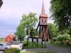 Klockstapeln byggd 1760 och har 3 st klockor.