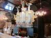 Orgelns fasad och framsida tillverkad 1736.