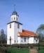 Gustav Adolfs kyrka på 90-talet. Foto: Åke Johansson.