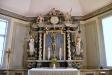 Altaruppsats från omkring 1717