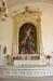 Altartavlan är målad av Ingeborg Westfelt-Eggertz