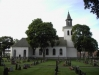 Visar kyrkan norrifrån
