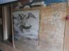 Målningar i vapenhuset.