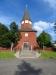 Kyrkan från väster.
