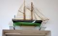 Votivskeppet är tillverkat av Konrad Walther och överlämnades till kyrkan 1981.