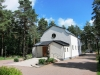 Kapellet på kyrkogården tillhörande Skillingaryds kyrka.
