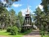 Kyrkogårdens västra ingång från Storgatan