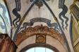 Brahes och Stenbocks vapen pryder portalen från 1653
