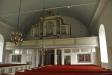 Orgeln har fasaden kvar sedan 1826