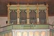 Kyrkans nuvarande orgel är byggd 1889 och har 12 stämmor.
