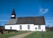 Ölmstads kyrka på 90-talet. Foto: Åke Johansson.