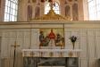 Den nuvarande altartavlan