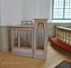 Altartavlan är målad av Ludvig Frid efter ett original av Carl Bloch