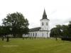 Foto föreställande den gamla kyrkan