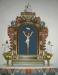 Från den gamla kyrkan överflyttades krusifixet från 1687 okänd tillverkare.
