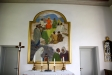 Altartavlan från 1942 av Olle Hjortzberg.