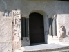 Den södra portalen är fint utsmyckad