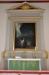 Altartavlan är målad 1795 av hovmålaren Jonas Berggren och har motivet ´Jesus i Getsemane´.