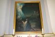 Altartavlan från 1795 av Jonas Berggren har motivet ´Jesus i Getsemane´.