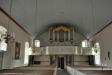 Orgeln är byggd 1853 av August Rosenborg.