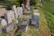 Bevarade gravvårdar.