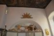 korsarmen tillbyggd på 1720-talet