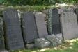 Bevarade gravstenar.