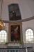 Predikstolen förfärdigades1828 av Israel Wennerholm