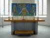 Glasmosaik av konstnären Arvid Wallinder