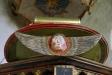 En ängel på predikstolen
