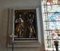 Det forna altarskåpets corpus (=mittparti) Johannes Döparen och aposteln Andreas