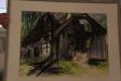 Efter branden. Målad av Ulla Nordin